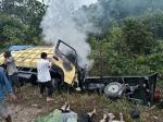Sopir Truk Kecelakaan Maut Diamankan di Mapolsek Cempaga Hulu