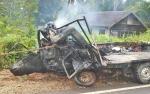 Sopir Truk Kecelakaan Maut Dinyatakan Selamat