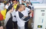 Bupati Kapuas Resmikan SPLU Area Kuliner Taman Kota