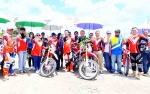 Bupati Kobar Buka Latihan Bersama Grass Track DPRD Kobar 2018