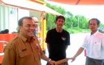 PKL di Taman Kuliner Tunggal Sangumang Keluhkan Tenda yang Disediakan Pemko Palangka Raya