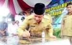 Berbekal 50 Kontainer, Taman Kuliner Tunggal Sangomang Diresmikan