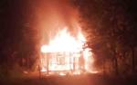 Rumah di Jalan Hiu Putih Ludes Terbakar