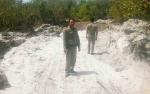 Satpol PP Sukamara Patroli ke Lokasi Tambang Ilegal di Kawasan Agrowisata