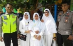 Polisi Kawal Rombongan TK Al-Wardah