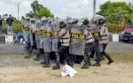 Polisi Tempatkan Personel di 3 Titik Saat Pencabutan Nomor Urut Pasangan Calon