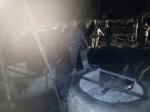 Satpol PP Kobar Gerebek Pabrik Miras di Kebun Sawit