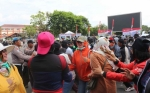 KORPRI Polda Kalteng Juga Dilibatkan dalam Simulasi Aksi Unjuk Rasa