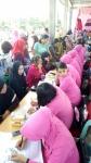 Ratusan Wanita Ikuti Tes IVA di Mapolres Kapuas