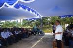 Jelang Masa Cuti, Bupati Ben Brahim Resmikan Jalan Poros Desa
