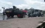 Tegang! Baku Tembak Terjadi di Bundaran Besar Palangka Raya