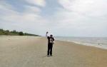 Hingga Pertengahan Februari 2018 Ratusan Pengunjung Datangi Pantai Satiruk