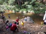 Sungai Saluhan Diminati Masyarakat Gunung Mas Untuk Berwisata