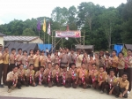 Polsek GBA Gelar Perkemahan Saka Bhayangkara untuk Tangkal Paham Radikalisme dan Anti Pancasila