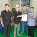 PSI Katingan Serahkan Rekomendasi Dukungan ke Pasangan Wiwin Susanto-Elman D Dangan
