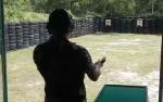 TNI - Wartawan Uji Kemampuan Menembak