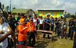 TNI AL Lanud Iskandar Pangkalan Bun Adakan Lomba Memanah dan Menyumpit