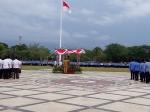 Gubernur Kalteng Pimpin Upacara Bendera Gabungan Hasupa