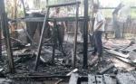 Eks Gudang Meubel di Sampit Terbakar