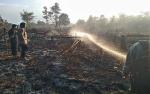 Tiga Hektare Lahan di Jalan Mahir Mahar Terbakar
