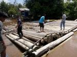 Tim Gabungan Polres Kapuas Amankan Ribuan Potong Kayu Log