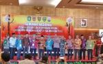 Pjs Bupati Barito Utara Hadiri Senimar Nasional Penanggulangan Karhutla di Palangka Raya