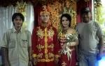 Pernikahan Adat Maanyan Diwarnai Tari-Tarian