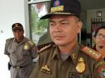 Ada Info Tenaga Kontrak Mau Demo, Satpol PP Berjaga di Kantor BKD