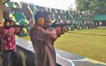Hadapi Pilkada, Polres Palangka Raya Asah Kemampuan Menembak