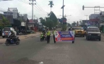 Satlantas Polres Kobar Sosialisasikan Keselamatan Berlalu Lintas di Sejumlah Lokasi