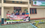Bhabinkamtibmas Polsek Montallat Sosialiasasi Sapu Bersih Pungli