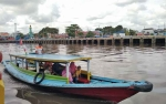 Penikmat Wisata Susur Sungai Mentaya Mulai Meningkat Sejak Awal 2018