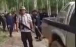 Ini Detik-detik Menegangkan Satpam PT Mustika Sembuluh Diminta Tinggalkan Lokasi Keributan