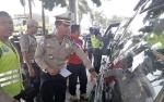 Polisi Sambangi Pangkalan Mobil Angkutan Kampanyekan Keselamatan