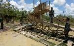 Danramil Kuala Kurun Pantau Penambangan Emas Ilegal di Kawasan Pertanian
