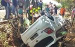 Pengendara Motor Tewas Setelah Gagal Menyalip Mobil