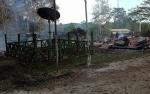 Kantor PT Austral Byna Hangus Terbakar