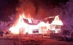 Kantor Desa dan BPD Muara Singan Hangus Terbakar