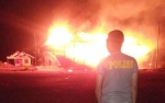 Ini Dugaan Penyebab Kebakaran Eks Tribun MTQ di Parenggean