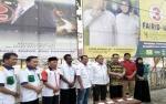 KPU Palangka Raya Serahkan APK Gratis kepada Empat Paslon