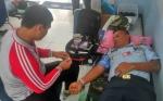 Jelang HUT TNI AU, Personel Lanud - Kodim - Polres Kompak Donor Darah