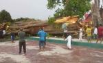Pohon Raksasa di Dekat Makam Kyai Gede Tumbang