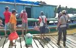 Debit Sungai Barito Meningkat, Polisi Aktif Berikan ImbauanKeselamatan