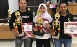 Kotim Raih Tiga Perunggu di Kejuaraan Tenis Meja Kapolda Kalteng Cup