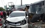 Pengemudi Mobil Tabrak Kios Sebabkan Seorang Tewas Jadi Tersangka