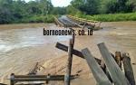 DPRD Gunung Mas: Jembatan Sungai Rawi yang Rusak Harus Cepat Diperbaiki