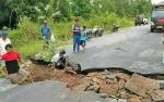Camat Katingan Tengah: Jalan Ambles di Km 8 Tumbang Samba Sudah Bisa Dilewati