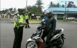 Polisi Katingan Bidik Pelanggaran Sepeda Motor