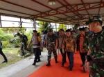 Gubernur Kalteng Sambut Kapolri dan Panglima TNI