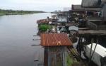 Warga Bantaran Sungai Khawatir Debit Air Mulai Naik